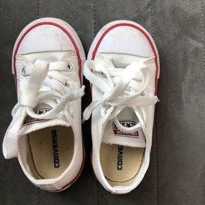 Toddler converse - white